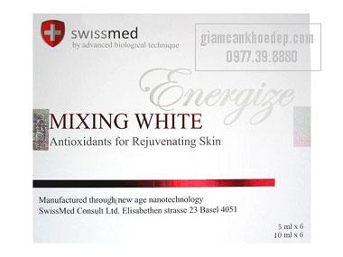 Mixing white Energize thuốc tiêm trắng da nhanh nhất