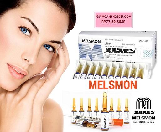 Melsmon Liệu pháp tế bào gốc tăng cường sức khỏe và sắc đẹp