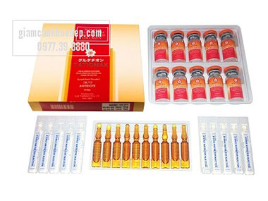 Thuốc tiêm trắng  da Tatiomax Glutathione Collagen