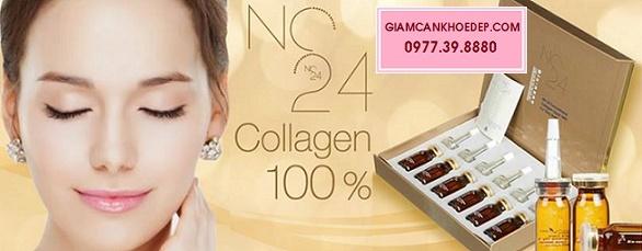 thuốc tiêm trắng nhanh nhất NC24 JAPAN NANO CONCENTRATED PRO 50000