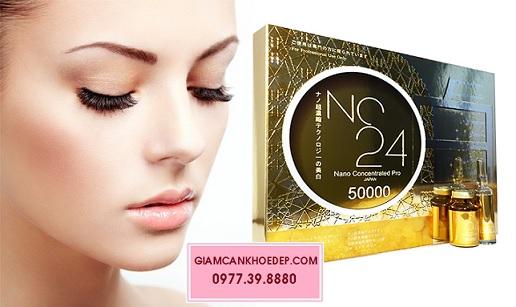 NC24 Nano Concentrated Pro 50000 thuốc tiêm trắng nhanh nhất của nhật