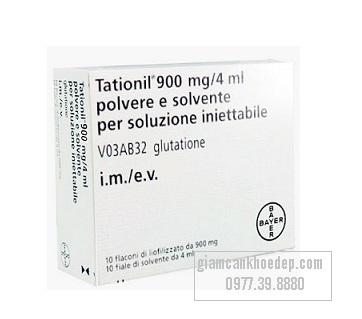 Thuốc tiêm trắng Tationil bayer hàm lượng 900mg