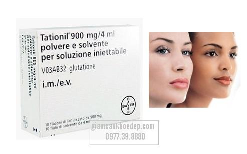 thuốc tiêm trắng da nhanh hơn Tationil 900mg