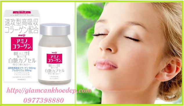 eiji Beaute White là sản phẩm làm trắng da của Nhật với công thức cải tiến hoàn toàn mới giúp cho da mịn màng tươi trẻ