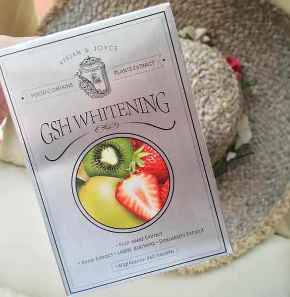 Viên thuốc uống trắng đẹp da cao cấp nhất GSH whitening