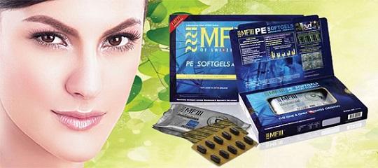 viên uống nhau thai cừu trắng da và chống lão hóa Thụy Sĩ MF3 PE Advanced Formula